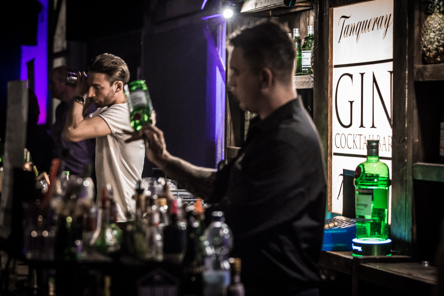 Halle Gin Fest Cocktail Mixer