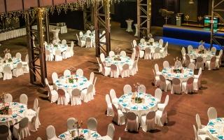 Halle Gala Vogelperspektive
